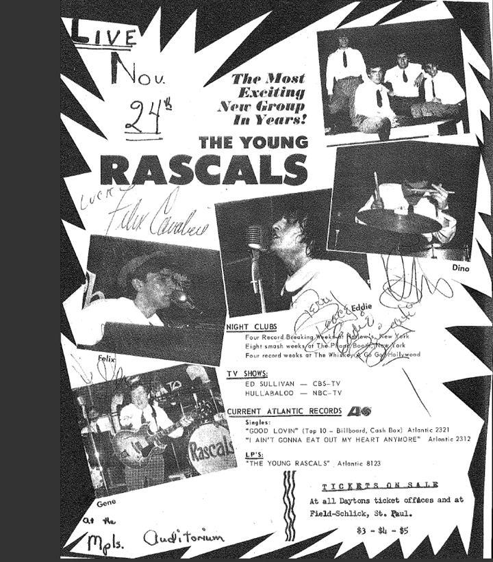 The Young Rascals Experience November 1967 (1/6)