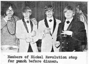 Nickel Revolution attending the Connie Awards May 1968