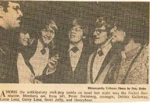 Nickel Revolution on Front Page of Minneapolis Tribune May 1968