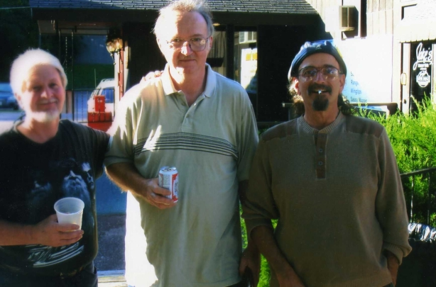 Louie Lenz, Keith Luer, Ron Hort Summer of 2011