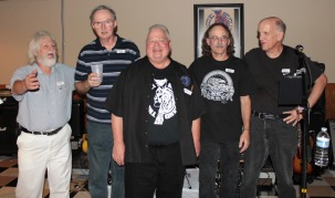 Louie Lenz, Keith Leur, Jerry Lenz, Scott Jeffey, Kent Saunders